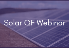 Webinar: Why Implement Active Power Curtailment on QF Sites?